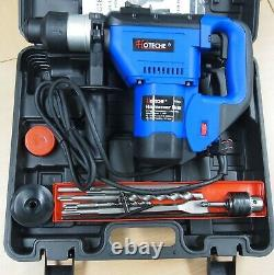1-1/2 SDS Plus Rotary Hammer Drill 3 Functions 1.5 HP