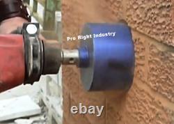 1'', 1.5 (1 1/2'') & 2 Diamond Core Bit with SDS MAX Adapter hilti hammer drill