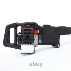 2 Stroke Jack Hammer Concrete Breaker Drill Punch Chisel Bit Power Tool Set