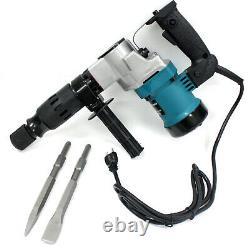 3000BPM 1-1/2 Electric Demolition Jack Hammer Concrete Breaker WithChisels Bits
