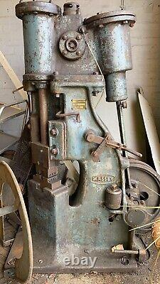Blacksmiths power hammer
