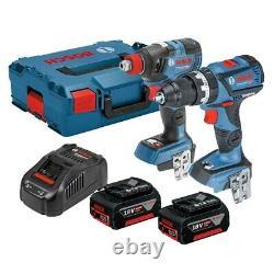 Bosch 18v Brushless GSB18V60C Robust Hammer Drill GDX18V200 Impact Driver Wrench