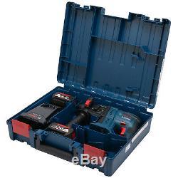 Bosch Akku-Schlagbohrhammer GBH 18V-20 2x Akku 5,0 AH + Lader Handwerkerkoffer