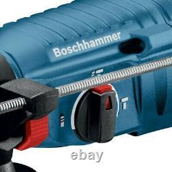 Bosch GBH225D 110v SDS Plus Rotary Hammer Drill 790w + 5 Piece SDS Bit Set +Case
