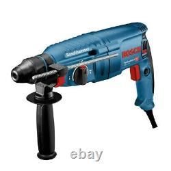 Bosch GBH225D 240v SDS+ SDS Plus Rotary Hammer Drill + SDS Bits Chisel + Chuck