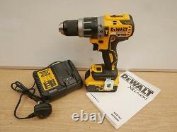 Brand New Dewalt Xr 18v Dcd796p1 Brushless Hammer Drill 1 X 5 Ah + Tstak