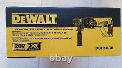 DEWALT 20V DCH133B Brushless 1 D-Handle Rotary Hammer drill New 2020 datecode