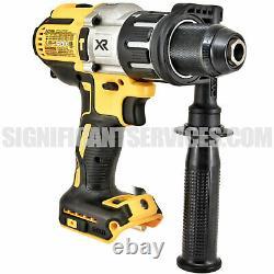DEWALT 20V MAX XR Li-Ion Brushless 2.0 Ah 3-Speed 1/2 in Hammer Drill Driver Kit