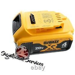 DeWALT DCH133B 20V MAX 2- 4.0 AH XR Brushless 1 D-Handle Rotary Hammer Drill