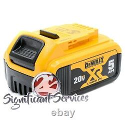 DeWALT DCH133B 20V MAX 5.0 AH XR Brushless 1 D-Handle Rotary Hammer Drill Kit