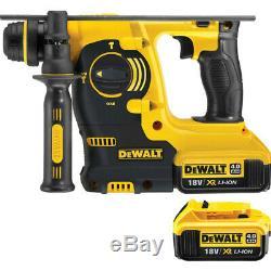 DeWalt DCH253 18V XR Cordless SDS Plus Hammer Drill 2 x 4.0Ah