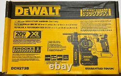 DeWalt DCH273B 1 20V MAX Brushless SDS Plus Rotary Hammer Drill, (Bare Tool)