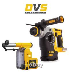 DeWalt DCH273N XR Brushless Cordless SDS+ Rotary Hammer Drill + Dust Extractor