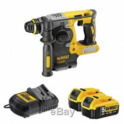 DeWalt DCH273P2T 18v XR Brushless SDS+ Hammer 5.0Ah Kit DCH273P2