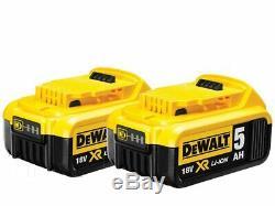 DeWalt DCH273P2 18v 2x5.0ah XR Brushless SDS Plus Rotary Hammer Brushless