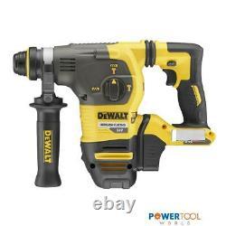 DeWalt DCH333N 54v XR FLEXVOLT Cordless Brushless SDS+ Plus Hammer Drill Body On