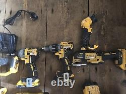 DeWalt SDS Rotary Hammer Drill Combi Set Jigsaw Circular Saw Grinder Multi tool
