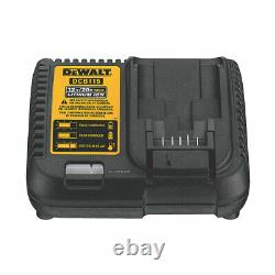 Dewalt Cordless Combi-Hammer Drill Brushed 2x5Ah Li-lon XR Batteries & Charger