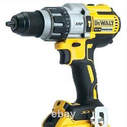 Dewalt DCD996N 18v XR 3 Speed Brushless Combi Hammer Inc Side Handle +Tstak Case