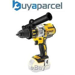 Dewalt DCD996N 18v XR 3 Speed Brushless Combi Hammer + Side Handle RP DCD995N