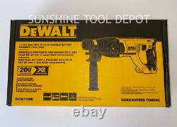 Dewalt DCH133B XR 20V Brushless SDS 1 Rotary D-Handle Hammer Drill (Tool Only)
