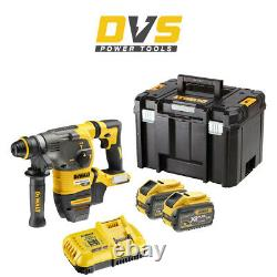 Dewalt DCH333X2 Cordless 54V FlexVolt SDS Plus Hammer Drill Set with TSTAK Case