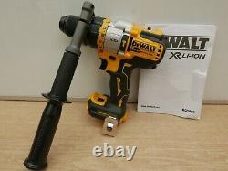 Dewalt Xr 18v Dcd999 Flexvolt Advantage 3 Speed Hammer Drill Bare Unit + Tstak