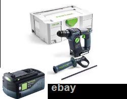 Festool Cordless Hammer Drill BHC 18 Li-Basic 574723 With FREE 5.2ah Battery