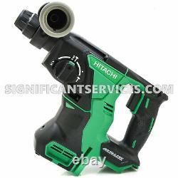 Hitachi DH18DBLQ4M 18V Cordless SDS + Rotary Hammer Drill 1 DH18DBL METABO HPT