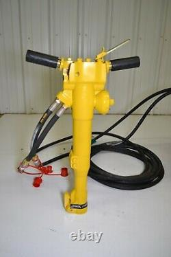 Hydraulic Hand Held Jack Hammer Concrete Breaker New Packer Brothers 45 lbs