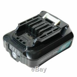 Makita 12V SDS+ Akku Bohrhammer HR140DSAE1 2x Akku 2.0Ah + Bits Bohrerset
