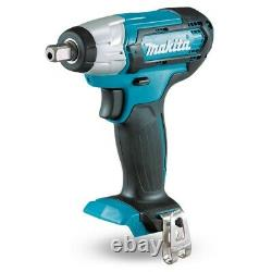 Makita 12v CXT 3pc Kit Combi Hammer Drill + Impact Driver + Impact Wrench 2 Batt
