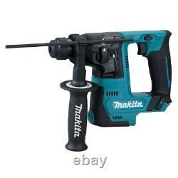 Makita 12v CXT 3pc Kit Combi Hammer Drill + Impact Driver + SDS Drill 2 Battery
