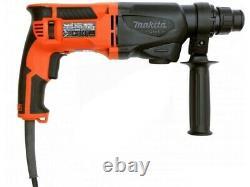 Makita 240v SDS + 3 Mode Rotary Hammer Drill 26mm & M9502R 115mm Angle Grinder