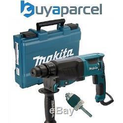 Makita 240v SDS + 3 Mode Rotary Hammer Drill HR2630 Heavy Duty + Chuck + Adaptor