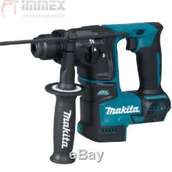 Makita Akku-Bohrhammer SDS-Plus DHR171RAJ 18V 2X2,0Ah Akkus + Schnellladegerät