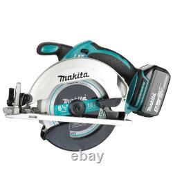Makita Combo Kit Hammer Drill/Impact Driver/Recip-Circ SawithWork Light (5-Tool)