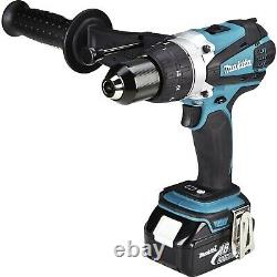 Makita DHP458Z 18v Lithium Ion LXT Combi Hammer Drill + MakPac Case Bare Unit