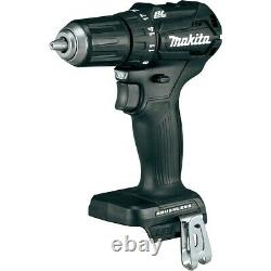Makita DHP483ZB 18v Black Brushless Compact Combi Hammer Drill DHP483Z + Makpac