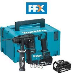 Makita DHR171RMJ 18v LXT 2x4.0Ah Li-ion 17mm SDS Plus Rotary Hammer Kit