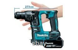 Makita DHR171Z 18V Cordless Brushless SDS Plus Rotary Hammer Drill Body + Chuck