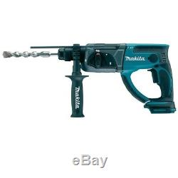 Makita DHR202Z 18v 2kg SDS Hammer Drill 3 Function LXT Lithium Compact BHR202