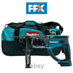 Makita DHR202 + LXT400 BAG 18v SDS+ Rotary Hammer Bare Unit and Bag