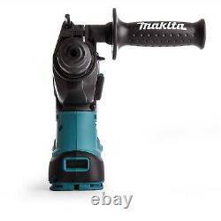 Makita DHR242Z 18v LXT SDS Rotary Hammer Drill + Keyless Chuck + Adapter