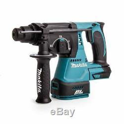 Makita DHR242Z 18v SDS+ Plus Brushless Cordless Rotary Hammer Drill Body Only
