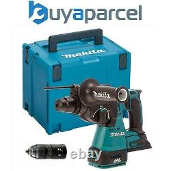 Makita DHR243Z 18V LXT Lithium Ion 3 Mode SDS Rotary Hammer Drill + Chuck + Case