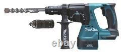 Makita DHR243Z Akku-Bohrhammer 18 Volt, SDS Plus ohne Akku ohne Ladegerät