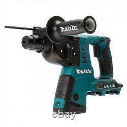 Makita DHR263ZJ 36v / 18v Twin LXT Twin SDS+ Plus Hammer Drill + Makpac DHR263Z