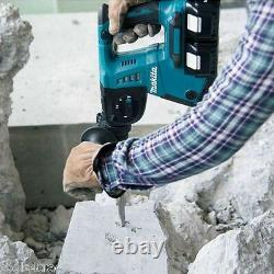 Makita DHR263ZJ Twin 18V SDS+ Rotary Hammer Body Only in Makpac Type 4 Case