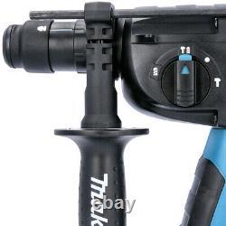 Makita DHR264ZJ Twin 18v Li-ion SDS+ Rotary Hammer Drill In MakPac Type 4 Case